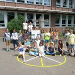 Römische Spiele Schulhof